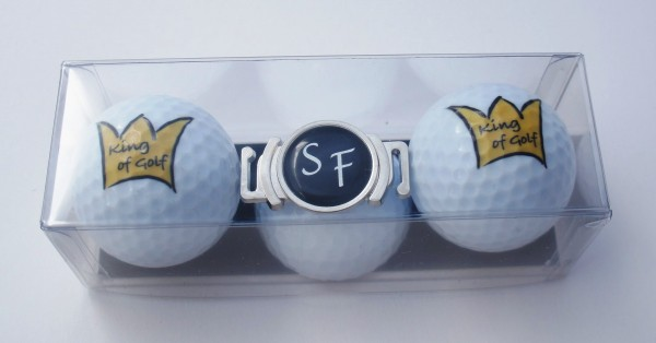 "Golfball-Set ""KING OF GOLF 1"""