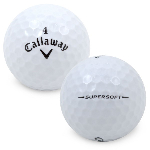 Callayway Supersoft Golfbälle 3er-Pack
