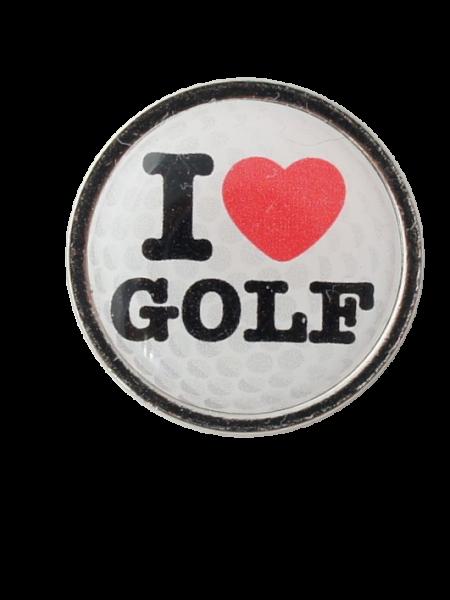 Golfball-Marker I LOVE GOLF