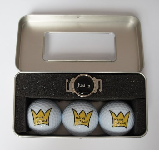 "Geschenk-Box ""KING OF GOLF 3"""