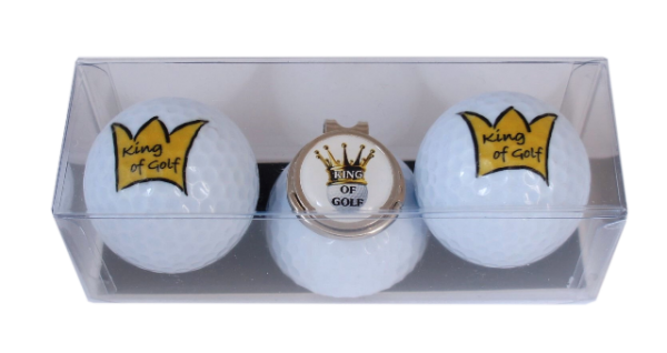 "Golfball-Set ""KING OF GOLF 2"""