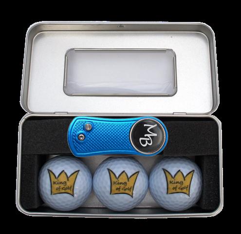 """Geschenk-Box """"KING OF GOLF 1"""""""
