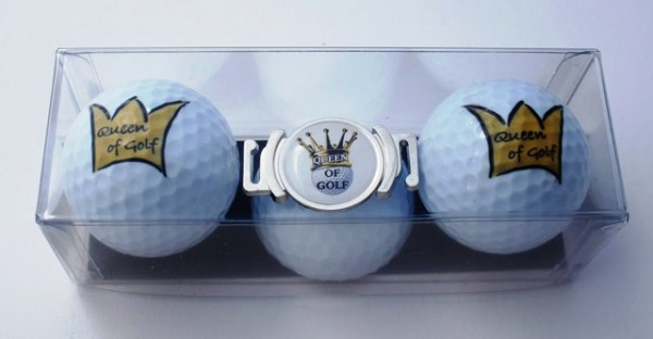 "Golfball-Set ""QUEEN OF GOLF 2"""