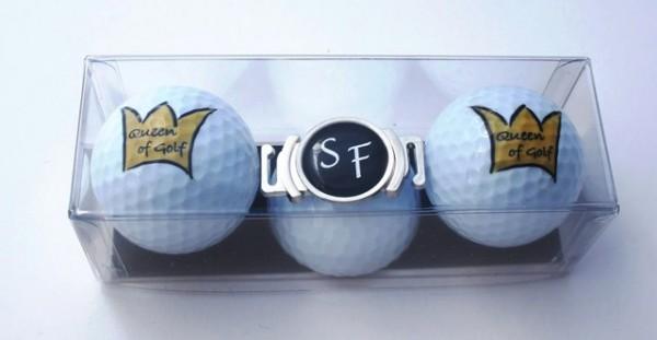 """Golfball-Set """"QUEEN OF GOLF 1"""""""