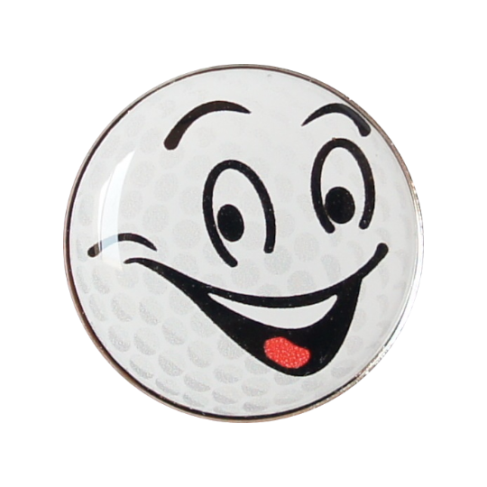 Golfball-Marker GOLFBALL SMILE