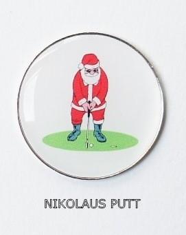 Golfball-Marker NIKOLAUS PUTT