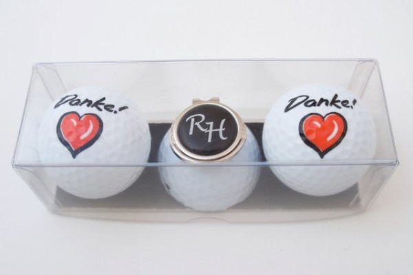 "Golfball-Set ""DANKE!"""