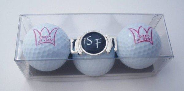 "Golfball-Set ""QUEEN OF GOLF 3"""