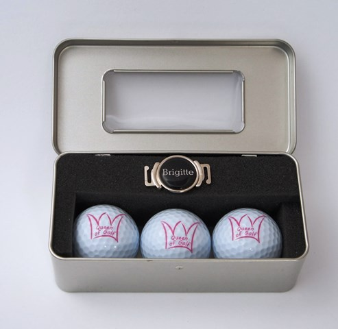 "Geschenk-Box ""QUEEN OF GOLF 4"""