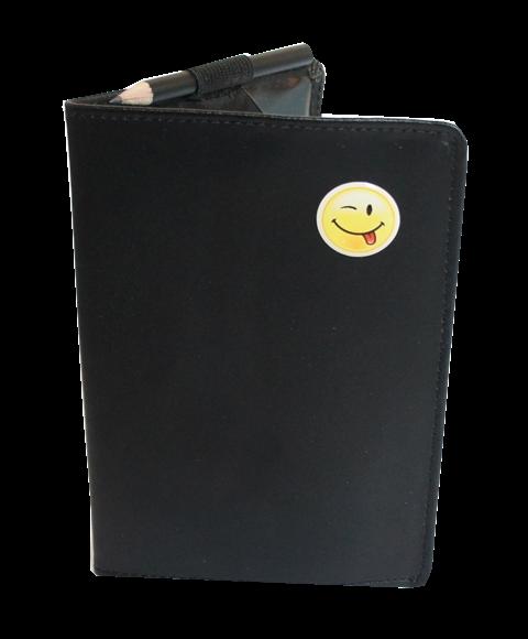 Scorecard-Mappe mit Logo SMILE