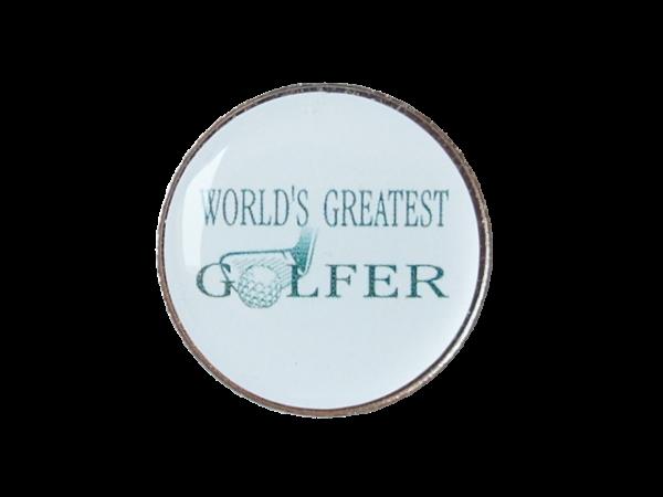 Golfball-Marker WORLD´S GREATEST GOLFER