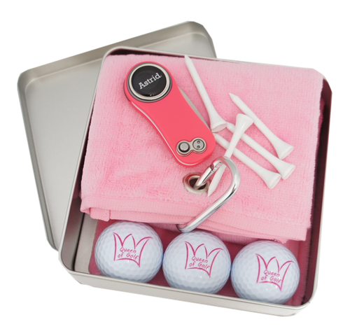 "Geschenk-Box ""QUEEN OF GOLF"""