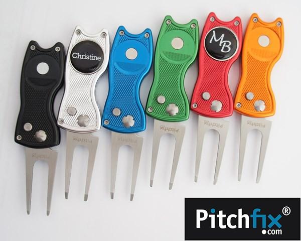 Pitchfix Classic Pitchgabel in verschiedenen Farben mit personalisierbarem Ballmarker