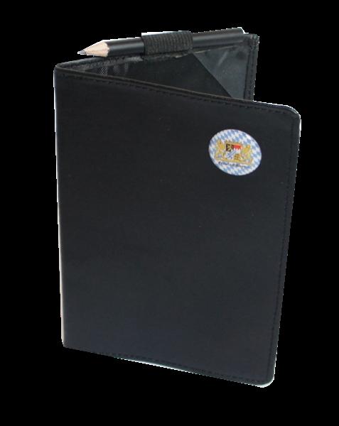 Scorecard-Mappe mit Logo FREISTAAT BAYERN