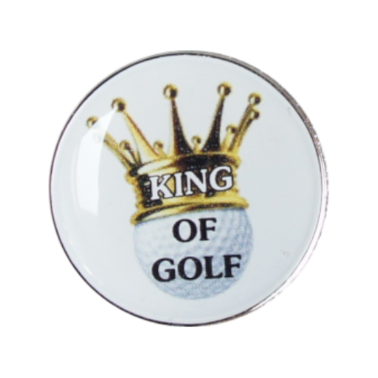 Golfball-Marker KING OF GOLF